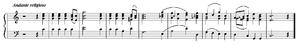 """Overture in C, """"In Memoriam"""""""