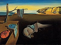 The Persistence of Memory (1931) is one of Dal�'s most famous works