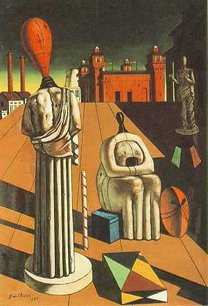 The Disquieting Muses, by Giorgio De Chirico P...