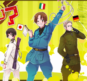 The Axis Powers, primary characters within the...