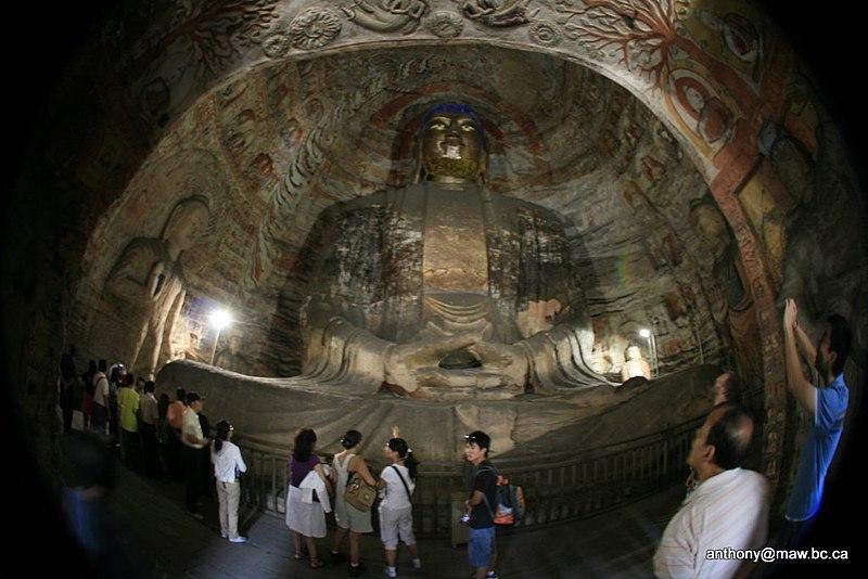 File:China Yungang Grottoes IMG 3534.jpg