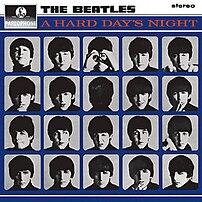 A Hard Day's Night album cover