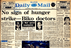 The Rand Daily Mail story, authored by Zille, ...