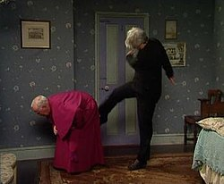 Dead Wallpaper With Quotes Kicking Bishop Brennan Up The Arse Wikipedia