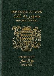 Chadian passport  Wikipedia