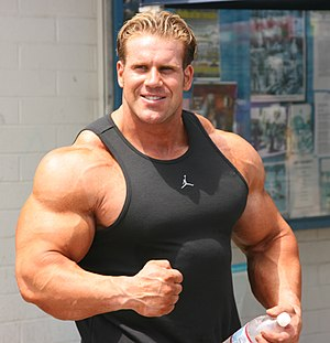 Jay Cutler at Muscle Beach 2007
