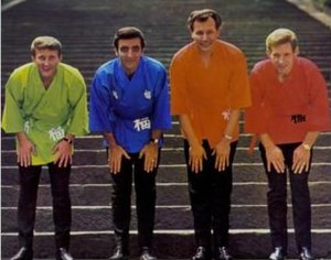 Classic lineup of the Ventures in Japan in 196...