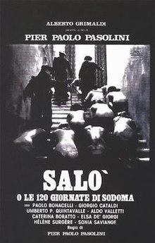 Salo Ou Les 120 Journées : journées, Salò,, Sodom, Wikipedia