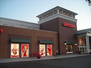 Non-traditional exterior of a SuperTarget, Jac...