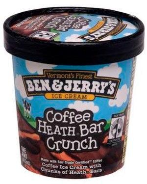 A pint of Ben & Jerry's ice cream
