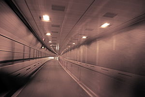 The Midtown Tunnel in New York City