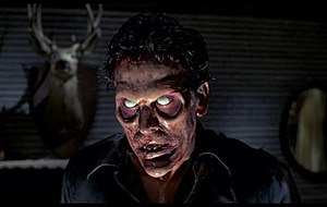 Deadite Ash in Evil Dead II