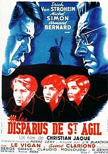 Les Disparus De Saint-agil : disparus, saint-agil, Boys', School, Wikipedia