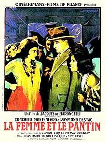 La Femme Et Le Pantin : femme, pantin, Woman, Puppet, (1929, Film), Wikipedia