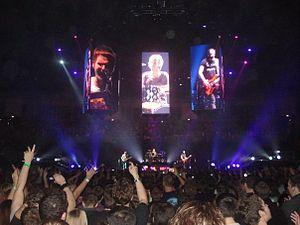 Muse at The O2, London.