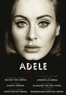 Giant Center Hershey Pa Seating Chart : giant, center, hershey, seating, chart, Adele, Wikipedia