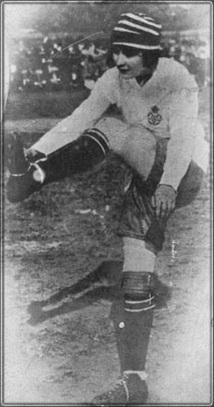 Parr in action for England