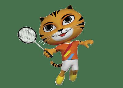 Bulu tangkis pada Pesta Olahraga Asia Tenggara 2017