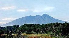 Gunung Salak, dilihat dari Bogor