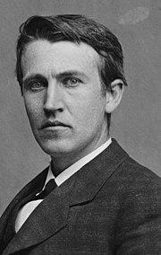 Thomas Edison waktu muda