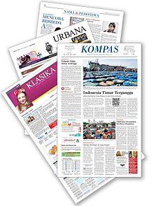 Kompas surat kabar  Wikipedia bahasa Indonesia