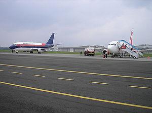 Marka daerah pergerakan pesawat udara  Wikipedia bahasa