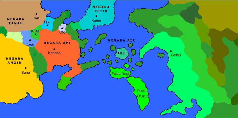 daftar daerah dalam seri