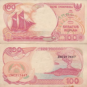 Rp100  Wikipedia bahasa Indonesia ensiklopedia bebas