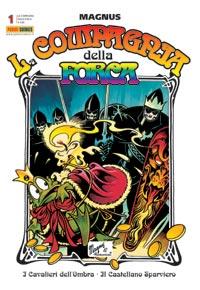 Copertina del n. 1 della ristampa Panini Comics