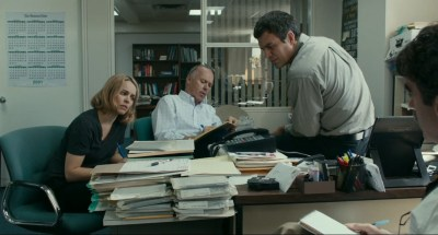 Michael Keaton, Rachel McAdams and Mark Ruffalo star in Spotlight