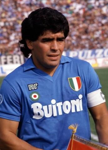 NR sulle maglie del Napoli campione d'Italia nel 1987 | numerosette.eu
