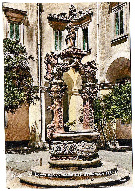Pozzo del Palazzo del Seminario Lecce  Wikipedia