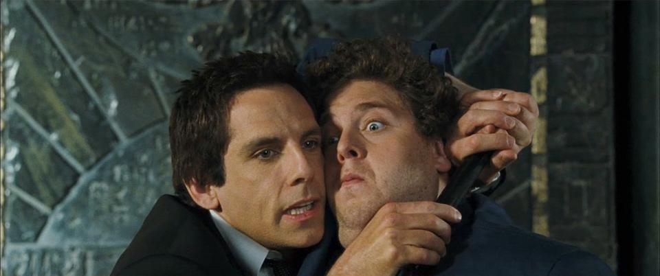 Ben Stiller e Jonah Hill in una scena del film