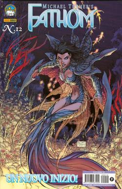 Una copertina di Fathom disegnata da Turner.