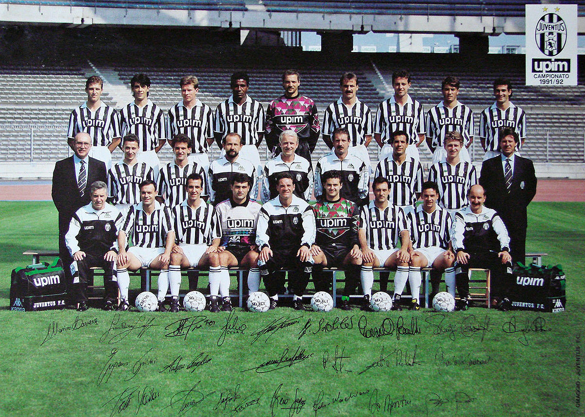 Juventus Football Club 19911992  Wikipedia