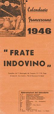 Frate Indovino  Wikipedia