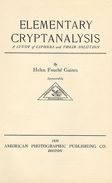 Helen Fouch Gaines  Wikipedia
