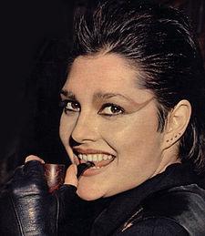 Anna Oxa nel 1978, anno dell'uscita del suo primo singolo