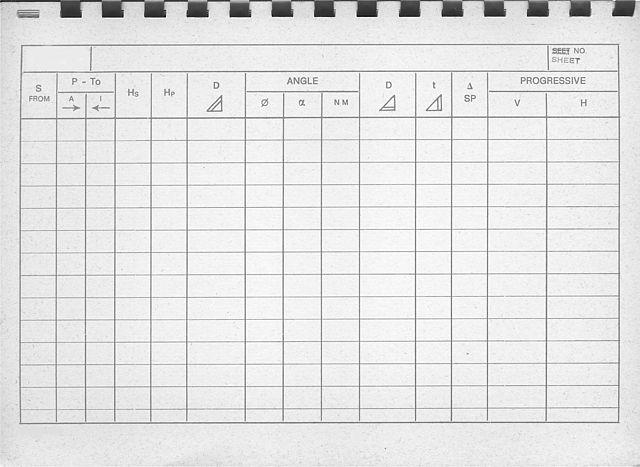 File:Libretto di campagna per distanziometro a infrarossi