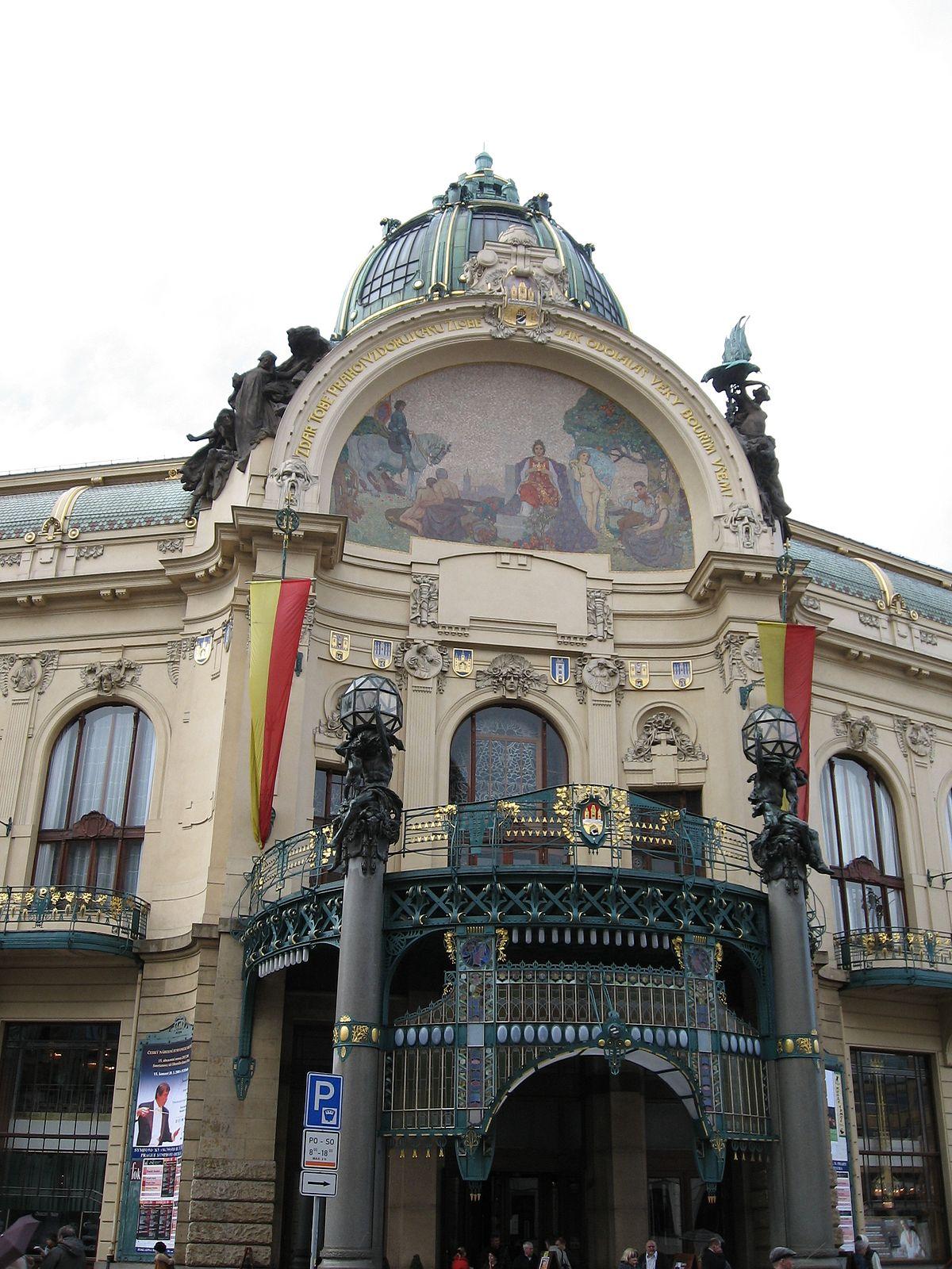 Casa municipale Praga  Wikipedia