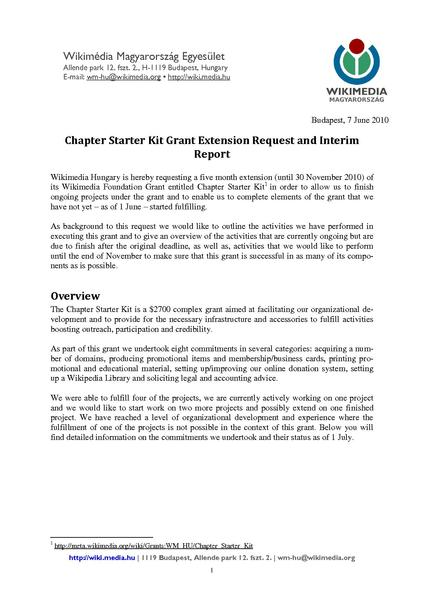 File Chapter Starter Kit Grant Extension Request Public