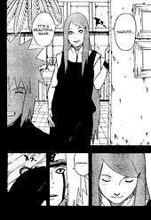 Uzumaki Kushina dalam komik