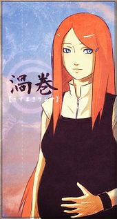 Uzumaki Kushina, ibu kepada Naruto.