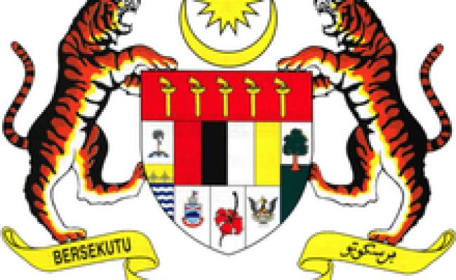 Lambang Malaysia Wikipedia Bahasa Melayu Ensiklopedia Bebas