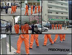 Campanie inedită de promovare a Prison Break în Portugalia