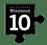 WikiPedia Logo 10 Jahre
