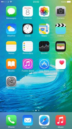 Ios 8 Wallpaper Iphone 6 Ios 9 維基百科,自由的百科全書