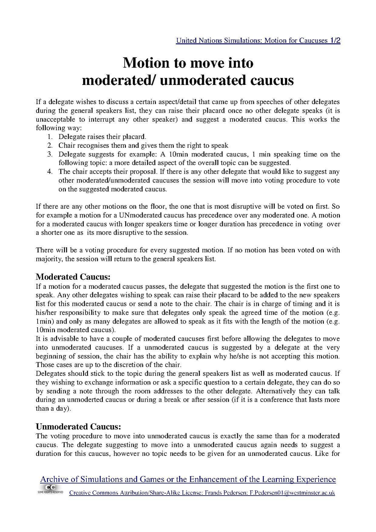 United Nations Simulation  Wikiversity