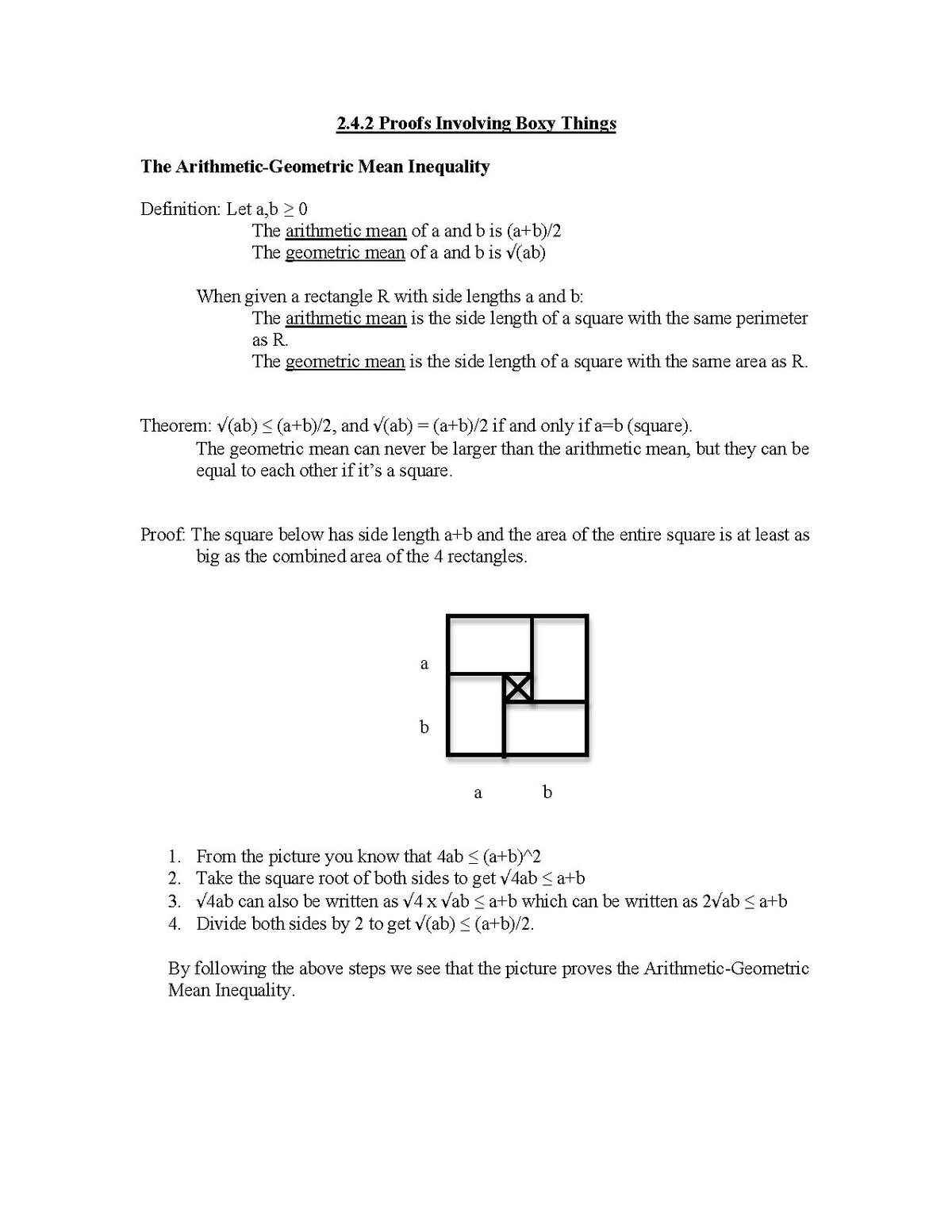 Ideas In Geometry Pythagorean Theorem 2
