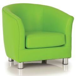Leather Tub Chair Rocking Cane Colour Faux Chairs Tritium Online Reality